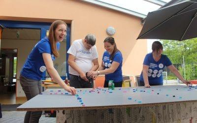 Community Partnership Day mit Alcon / CIBA VISION bei der Lebenshilfe Aschaffenburg