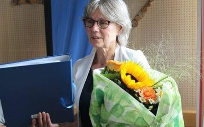 Langjähige Mitarbeiterin in den beruflichen Ruhestand verabschiedet