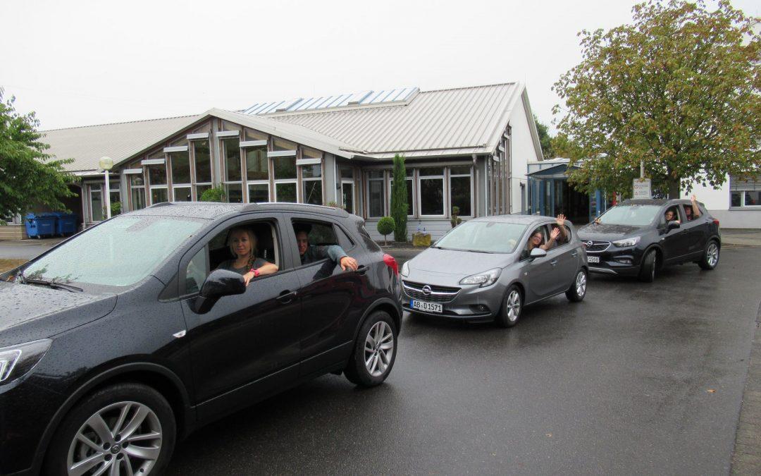 Danke an das Autohaus Opel-Brass