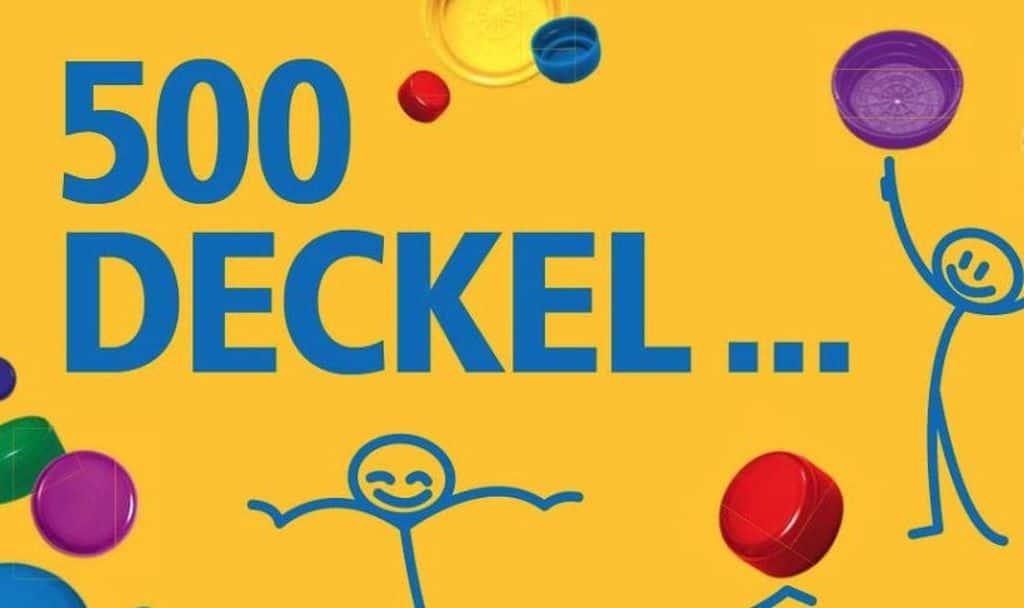 500 Deckel für 1 Leben ohne Kinderlähmung