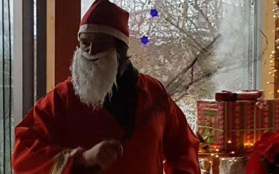 Nikolaus zu Besuch in der Tagesförderstätte