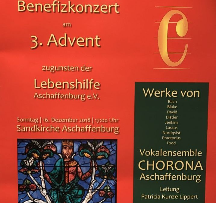 Benefizkonzert am 3. Advent