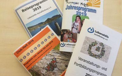Programme der Lebenshilfe Aschaffenburg e.V.