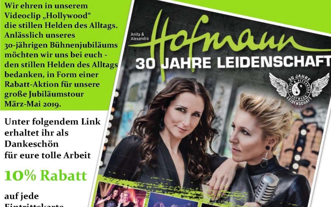 Anita & Alexandra Hofmann – 30 Jahre Leidenschaft