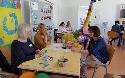 Unsere Tagesförderstätte bei dem Tag der Offenen Tür der Fachschule für Heilerziehungspflege
