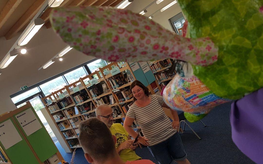 Besucht Klara in der Öffentlichen Bücherei Mainschaff