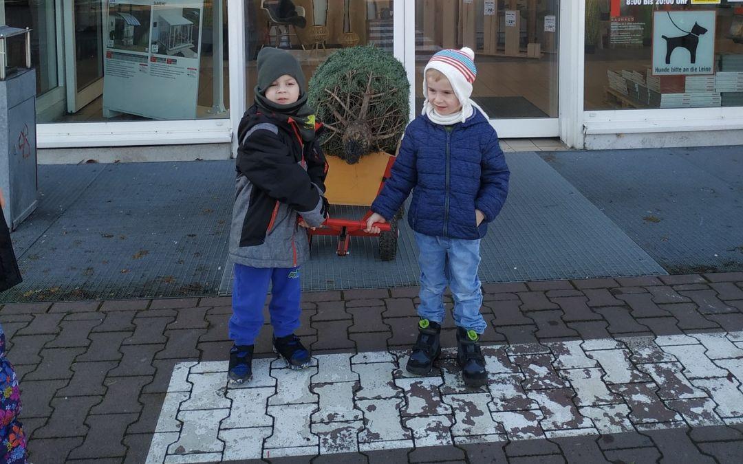 Weihnachtszeit in der Integrativen Kindertagesstätte Himmelszelt