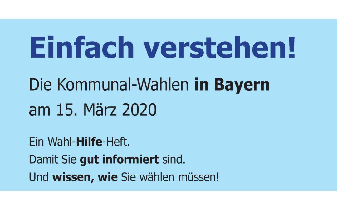 Kommunalwahlen am 15. März 2020 in Stadt und Landkreis Aschaffenburg – jeder darf wählen!