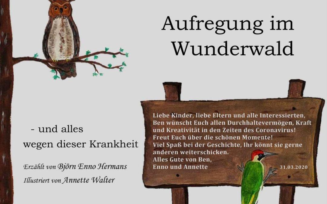 """Bilderbuchempfehlung """"Aufregung im Wunderwald"""""""