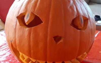 Halloween in der Tagesförderstätte