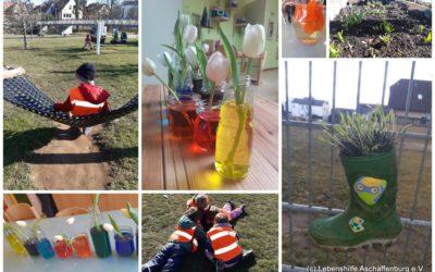 Die Kinder erleben eine spannende und vielfältige Zeit