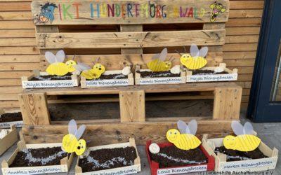 Welttag der Bienen in den Integrativen Kindertagesstätten Kunterbunt und Hundertmorgenwald